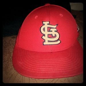 St Louis Cardinals stretch fitted hat S/M